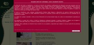 Bienvenidos a la web del Hotel La Residencia