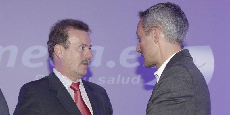 Jorge Segado y Manuel Campo Vidal