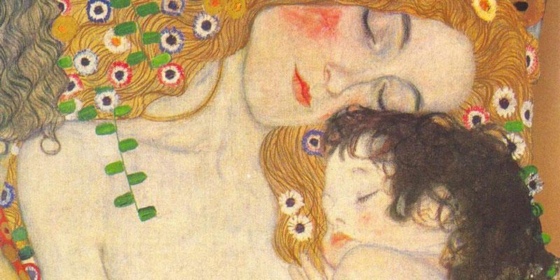 Madre e hijo, de Gustav Klimt