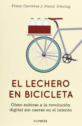 El lechero en bicicleta, Franc Carreras y Jenny Jobring.