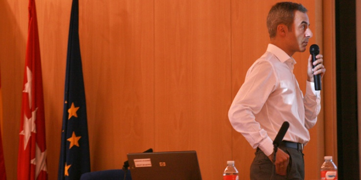 Jorge Segado en la Universidad Rey Juan Carlos