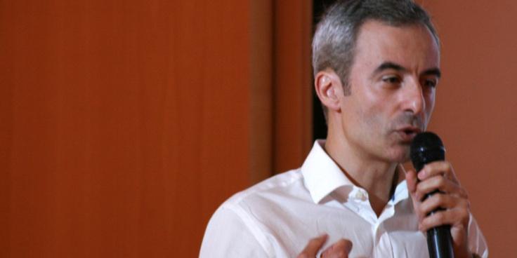 Jorge Segado en la conferencia de AERCO