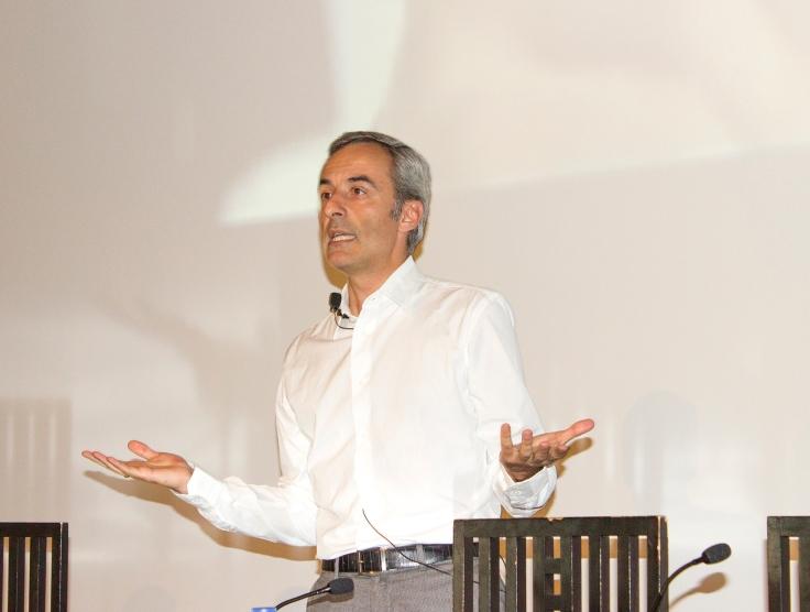 Jorge Segado en el Museo del Traje