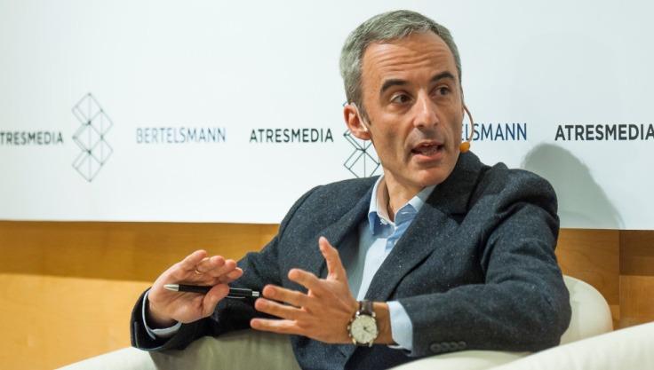 Jorge Segado en el encuentro de Crea Cultura - Atresmedia